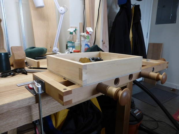 "And a ""benchtop miscellany"" tray (which will eventually be a benchtop chisel tray."